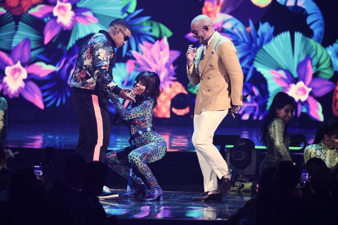 Daddy Yankee y Pitbull - Premios Juventud 2019 Ganadores - Stars World Production