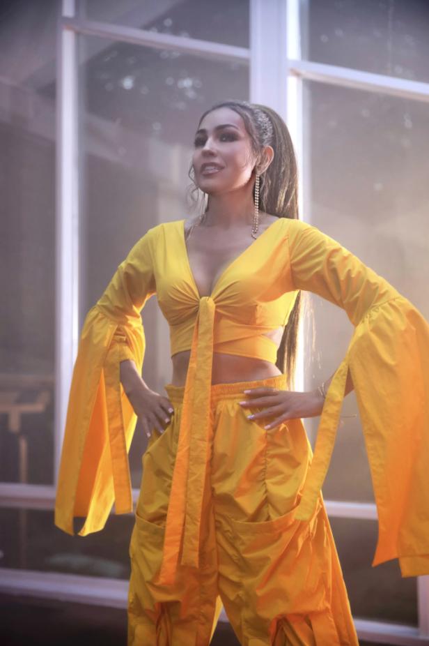 Thalía ha grabado con grandes exponentes de la música urbana.(Acoustyle Digital M&C)